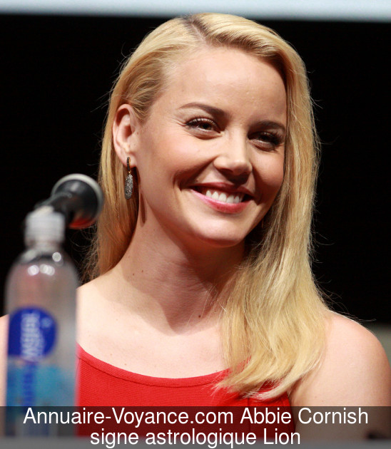 Abbie Cornish Lion