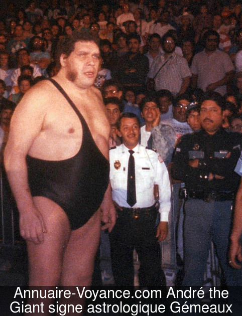 André the Giant Gémeaux