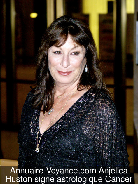 Anjelica Huston Cancer