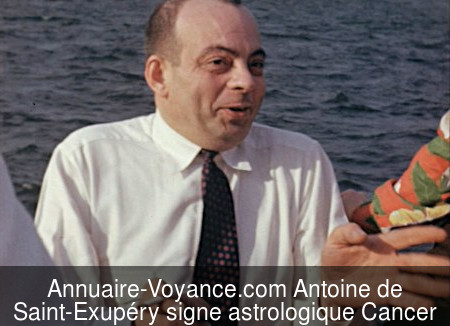 Antoine de Saint-Exupéry Cancer