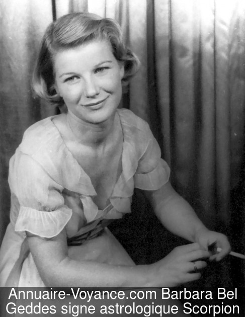 Barbara Bel Geddes Scorpion