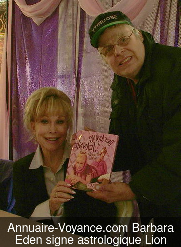 Barbara Eden Lion