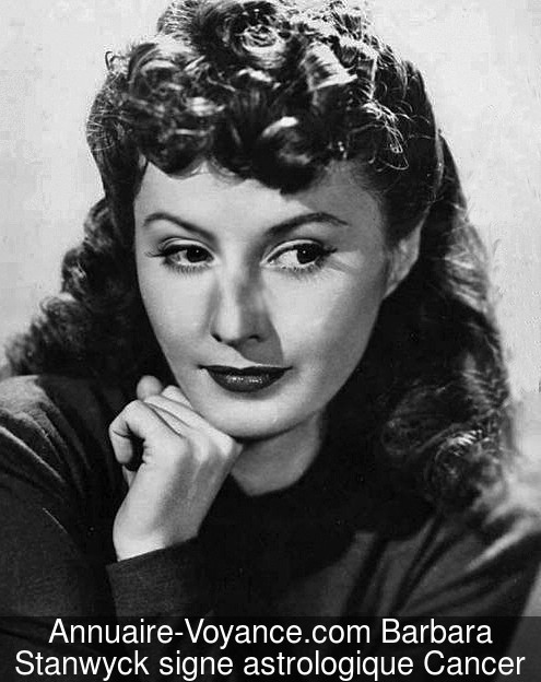 Barbara Stanwyck Cancer