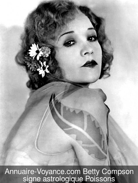 Betty Compson Poissons