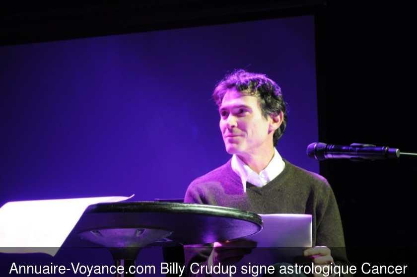 Billy Crudup Cancer
