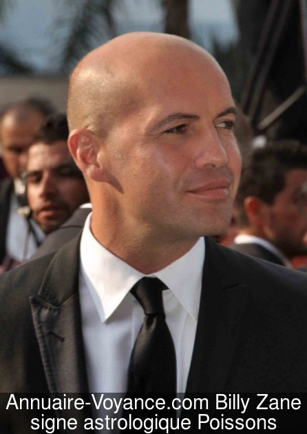 Billy Zane Poissons