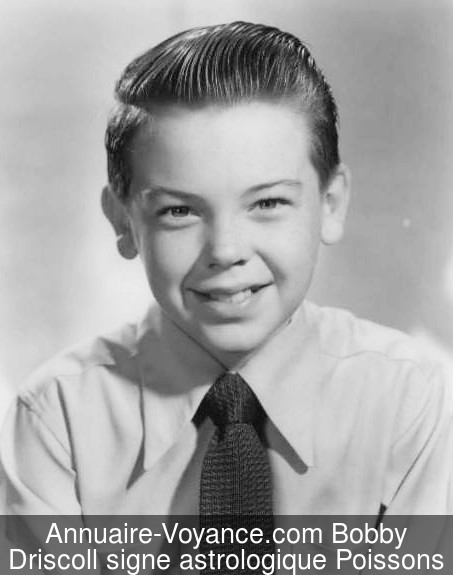 Bobby Driscoll Poissons