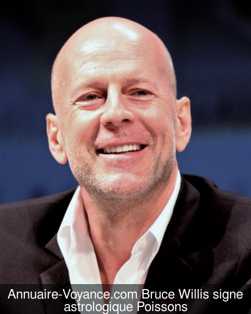 Bruce Willis Poissons