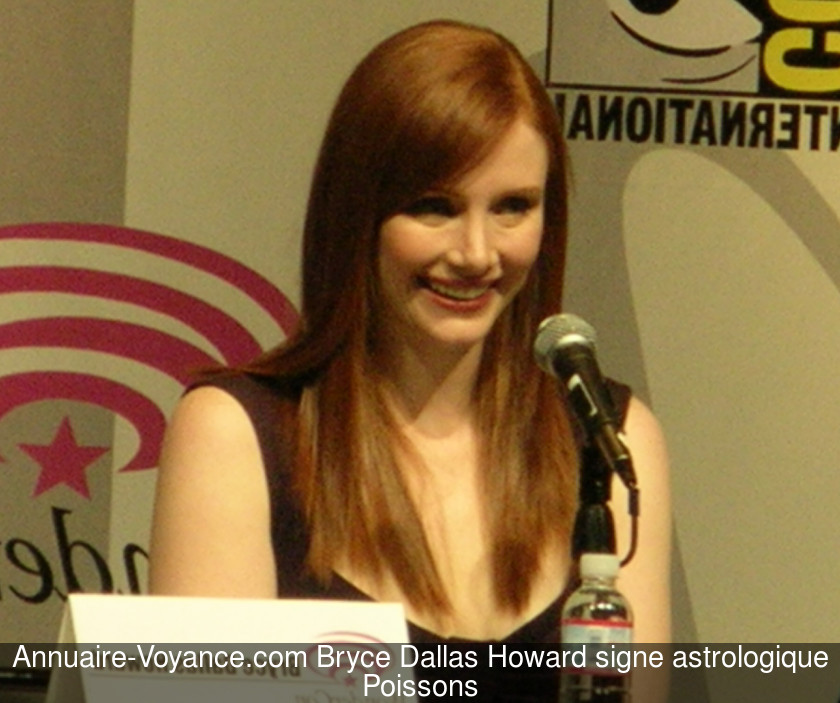 Bryce Dallas Howard Poissons
