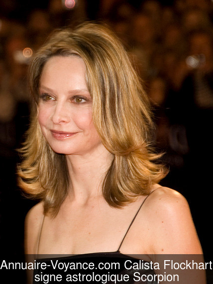 Calista Flockhart Scorpion
