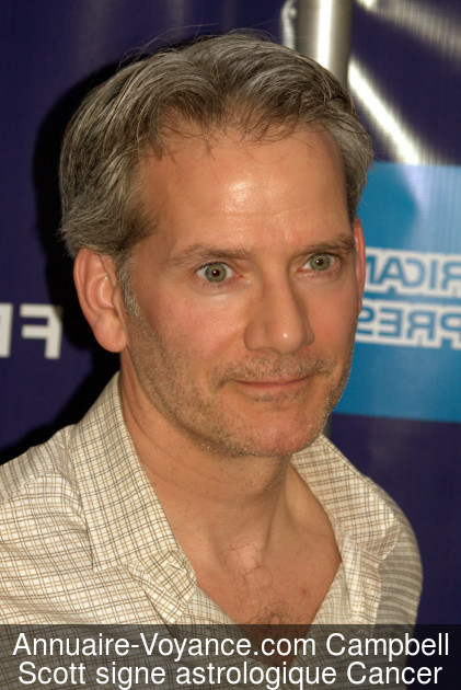 Campbell Scott Cancer