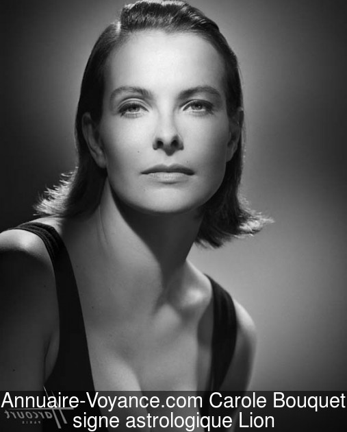 Carole Bouquet Lion