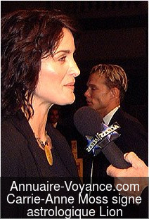 Carrie-Anne Moss Lion