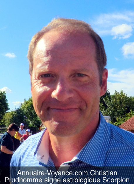 Christian Prudhomme Scorpion