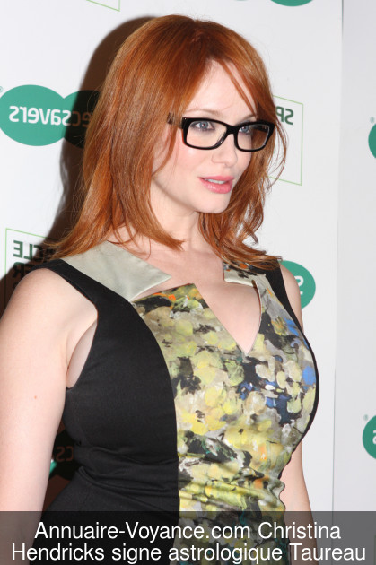 Christina Hendricks Taureau