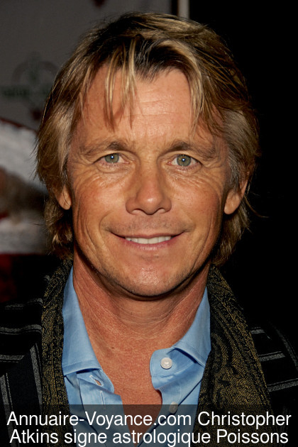 Christopher Atkins Poissons