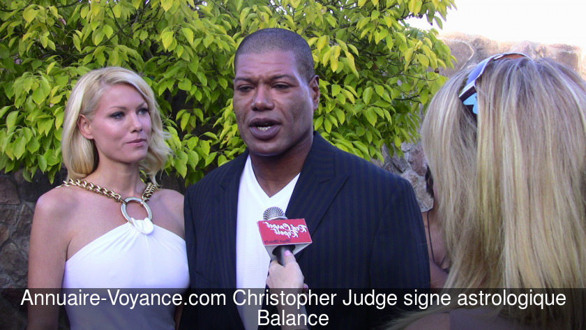 Christopher Judge Balance