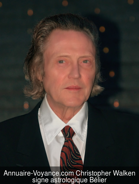 Christopher Walken Bélier
