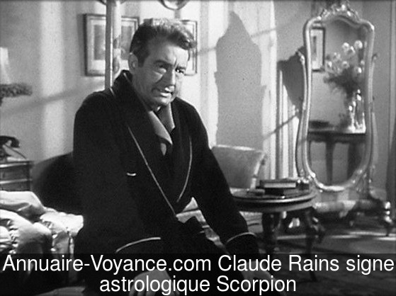 Claude Rains Scorpion