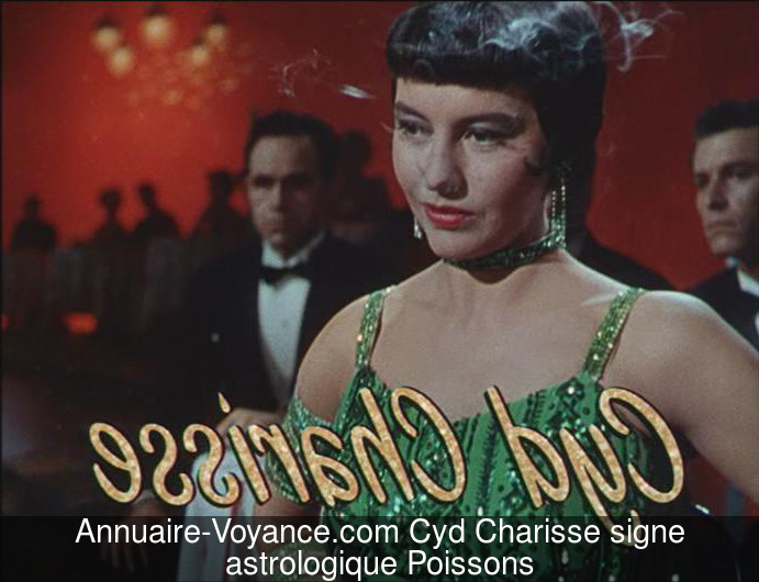 Cyd Charisse Poissons