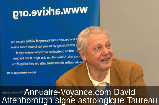 David Attenborough Taureau