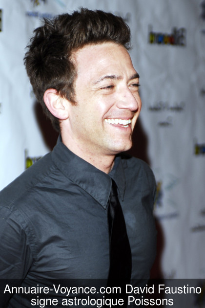 David Faustino Poissons