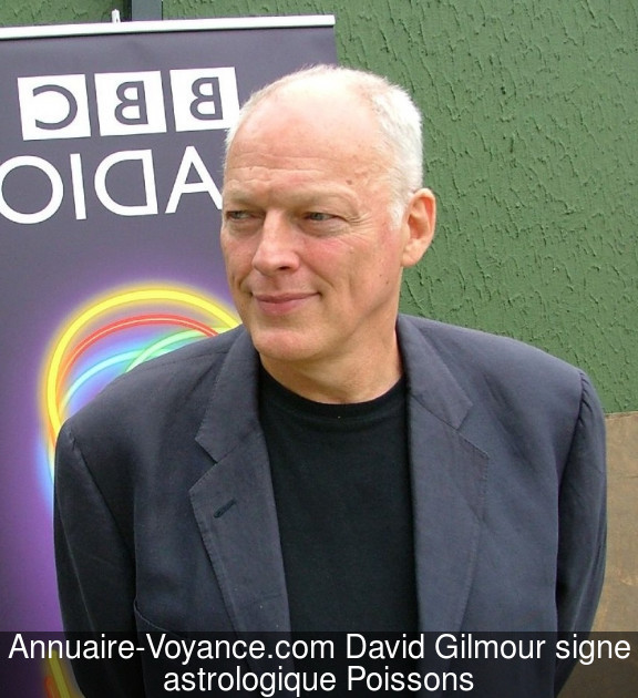David Gilmour Poissons