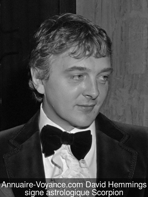 David Hemmings Scorpion