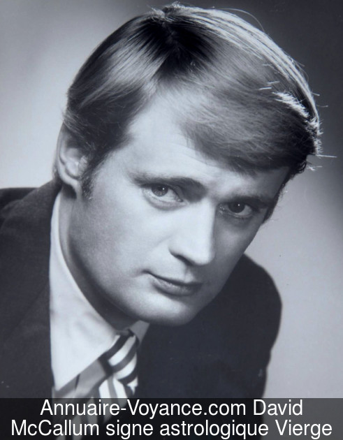 David McCallum Vierge