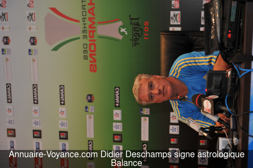 Didier Deschamps Balance
