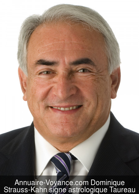 Dominique Strauss-Kahn Taureau