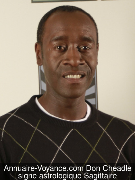 Don Cheadle Sagittaire