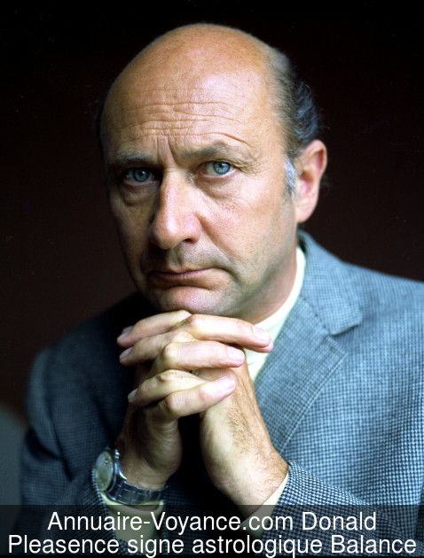 Donald Pleasence Balance