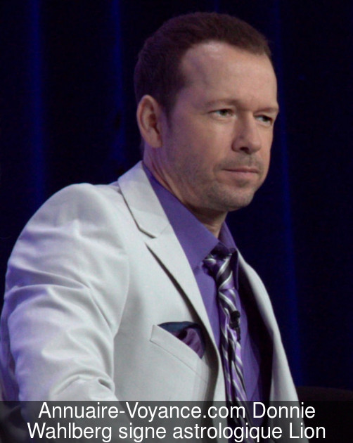 Donnie Wahlberg Lion