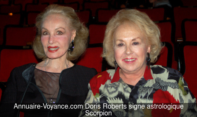 Doris Roberts Scorpion