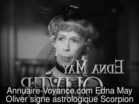 Edna May Oliver Scorpion
