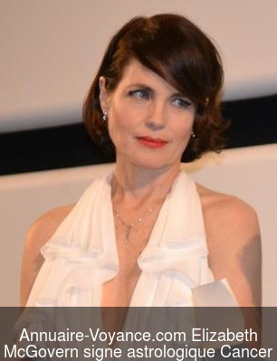 Elizabeth McGovern Cancer