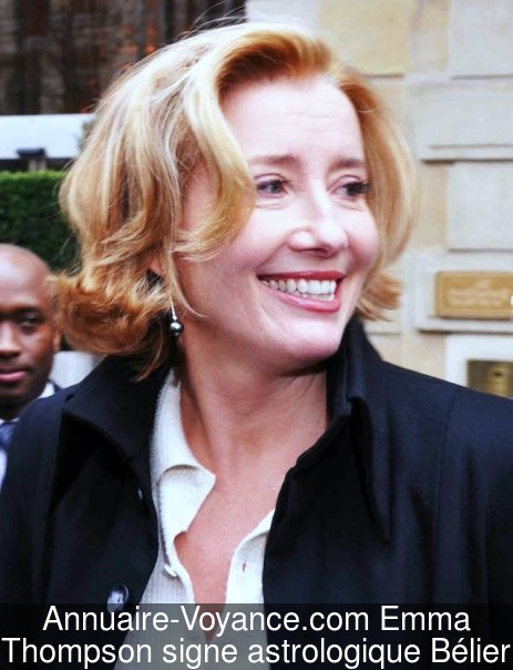 Emma Thompson Bélier