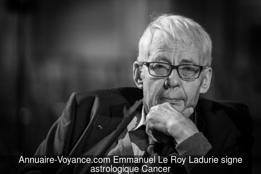 Emmanuel Le Roy Ladurie Cancer