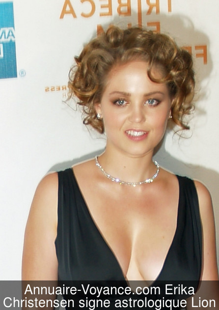 Erika Christensen Lion