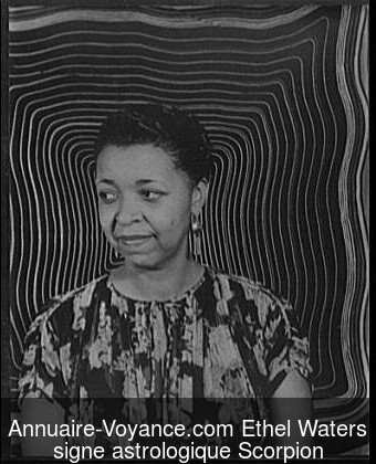 Ethel Waters Scorpion