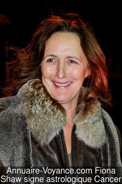 Fiona Shaw Cancer