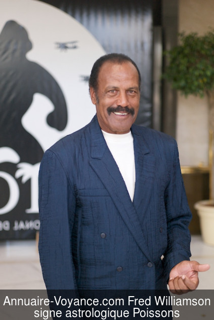 Fred Williamson Poissons
