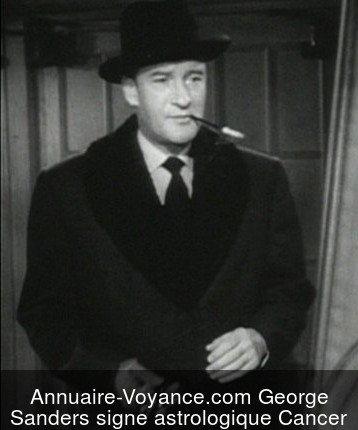 George Sanders Cancer