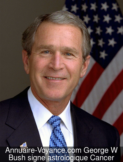 George W Bush Cancer