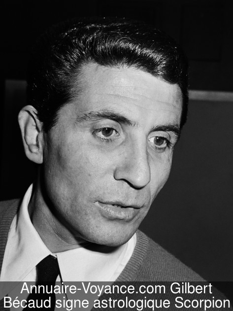Gilbert Bécaud Scorpion