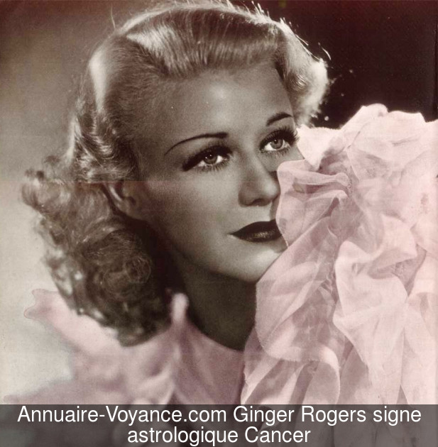 Ginger Rogers Cancer
