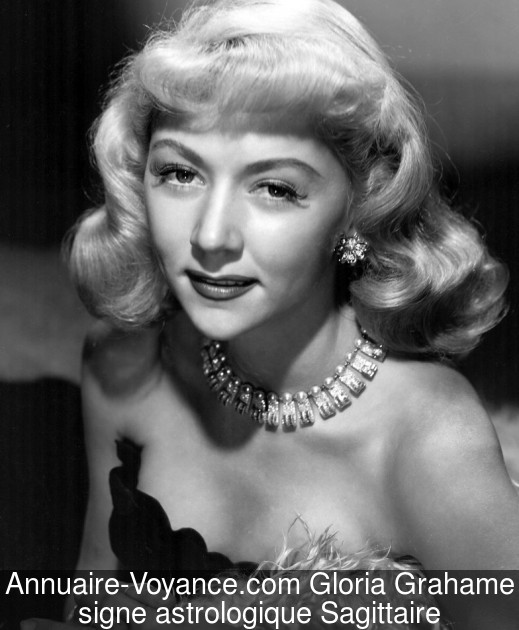 Gloria Grahame Sagittaire