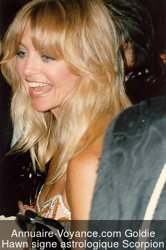 Goldie Hawn Scorpion