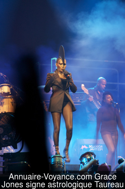Grace Jones Taureau